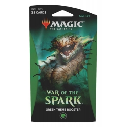 MTG: War of the Spark Theme Single Booster - Green