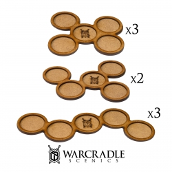 Skirmish Movement Trays - 30mm