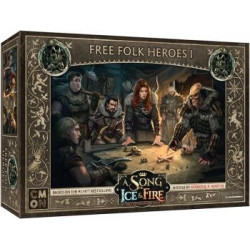 A Song Of Ice and Fire: Free Folk Heroes Box 1