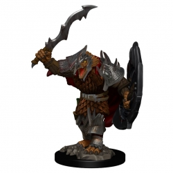 D&D Icons of the Realms Premium Figures: Dragonborn Male Fighter