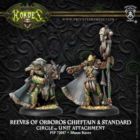 Reeves of Orboros Chieftain & Standard
