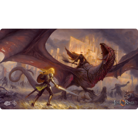 The Flame of the West Playmat