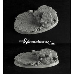 Egyptian Ruins 75x42mm Round Base