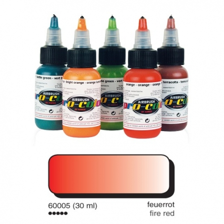 Pro-Colour - Opaque Fire Red 32ml