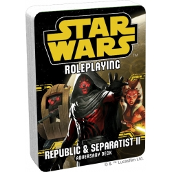Star Wars: Age of Rebellion: Republic and Separatist II Adversary Deck