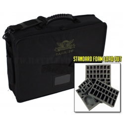 P.A.C.K. 216 2.0 Half Tray Standard Load Out (Black)