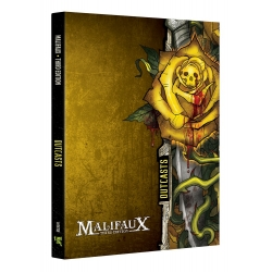 Outcast Faction Book - M3e Malifaux 3rd Edition