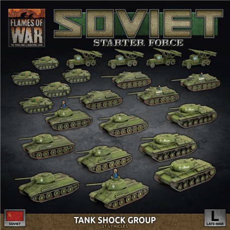 """Soviet LW """"Tank Shock Group"""" Army Deal"""