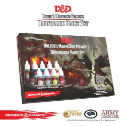 Underdark D&D Paint Set