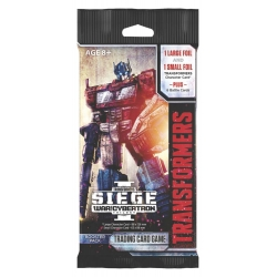 Transformers TCG War for Cybertron Siege I Single Booster