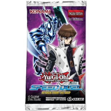 Yu-Gi-Oh Speed Duel: Attack from the Deep Single Booster
