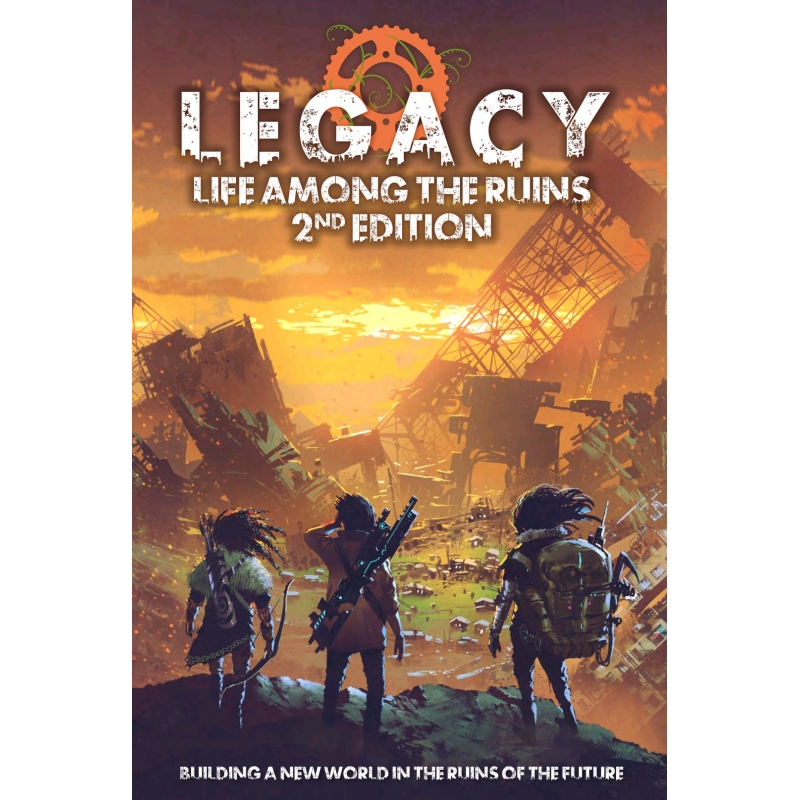 Legacy: Life Among the Ruins 2nd Ed - Sci-Fi - Roleplaying Games