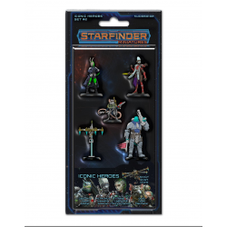 Starfinder RPG: Iconic Heroes Set No. 2 Painted Miniatures