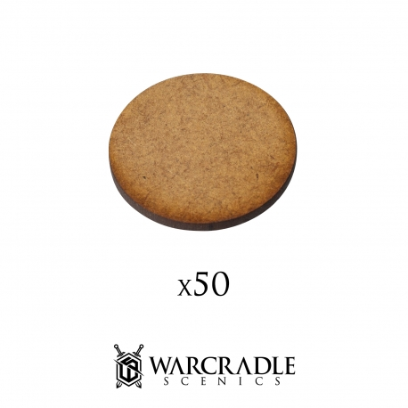 Scenic Bases - Blank 32mm