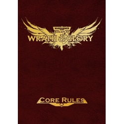 Wrath & Glory Core Rulebook Ltd Ed Red Hardcover