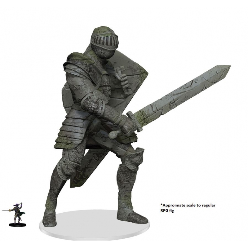 D&D Icons of the Realms: Walking Statue of Waterdeep - The Honorable Knight  - Wayland Games