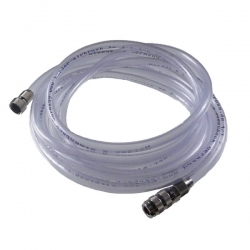 Clear Hose 1/8bsp with Quick Release Coupling