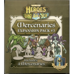 Heroes of Land, Air & Sea: Merc Pack 3 Exp