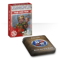 Blood Bowl Halfling Team Card Pack - English