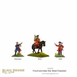 French Indian War: British Characters