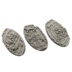 Shrine Bases, Oval 90mm
