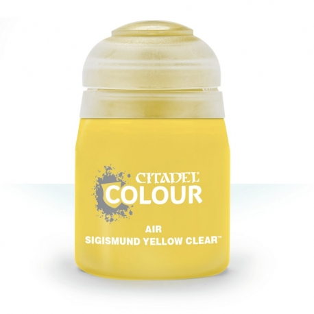 Citadel Air: Sigismund Yellow Clear - 24ml