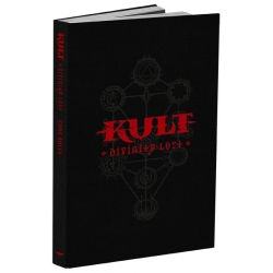KULT, Divinity Lost RPG: 4th Edition Core Rulebook Black