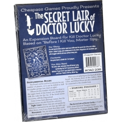 Kill Doctor Lucky: Secret Lair of Doctor Lucky Exp