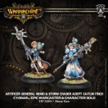 Artificer General Nemo and Storm Chaser Caitlin Finch