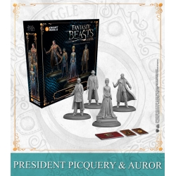 President Picquery & Aurors - English