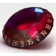 PolyHero Rogue: 1d20 Gem - Roguish Rouge