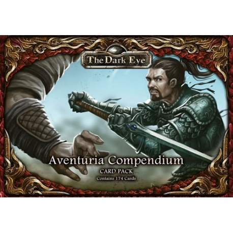 The Dark Eye RPG: Aventuria Compendium Card Pack