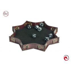e-Raptor Red Explosion Dice Tray