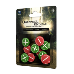 Outbreak Undead 2nd Ed: Survivor's Tokens