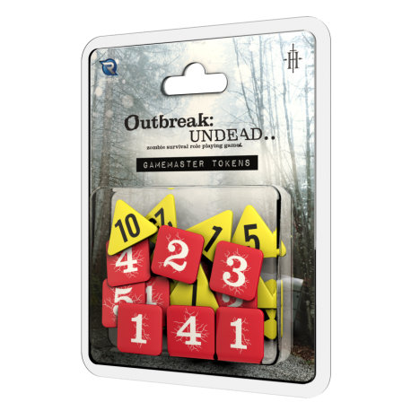 Outbreak Undead 2nd Ed: Gamemaster's Tokens