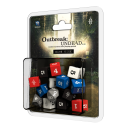Outbreak Undead 2nd Ed: Game Dice