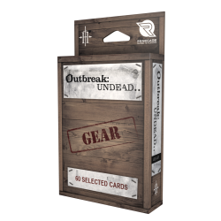 Outbreak Undead 2nd Ed: Gear Card Deck