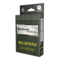 Outbreak Undead 2nd Ed: Weapons Card Deck