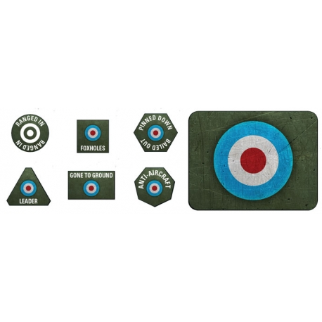 Late War: British Tokens & Objectives