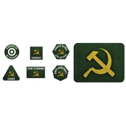 Late War: Soviet Tokens & Objectives