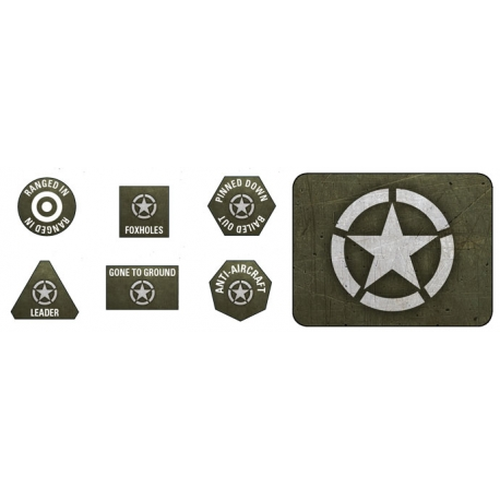 Late War: American Tokens & Objectives