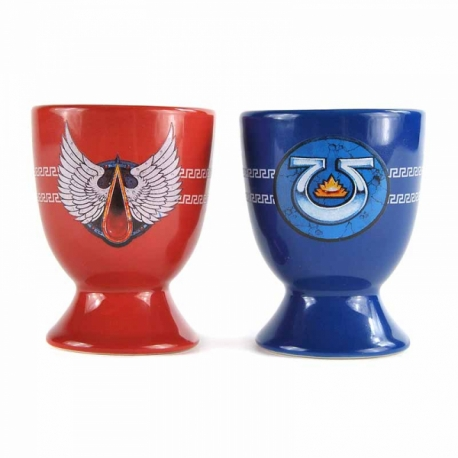 Egg Cups Set Of 2 - Warhammer (Chapter)