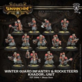 Winter Guard Infantry and Rocketeers