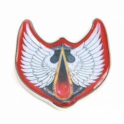 Enamel Badge (Header) - Warhammer (Blood Angels)