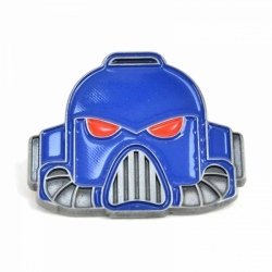 Enamel Badge (Header) - Warhammer (Space Marine Helmet)