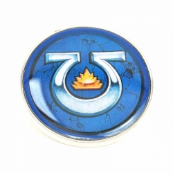 Enamel Badge (Header) - Warhammer (Ultramarines)