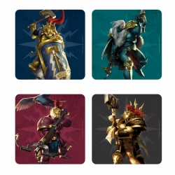 Coaster Set Of 4 - Age of Sigmar (Stormcast)