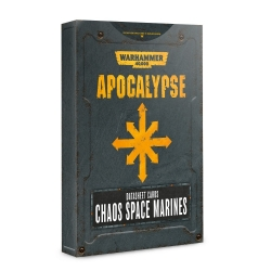 Apocalypse Datasheets: Chaos Space Marines - English