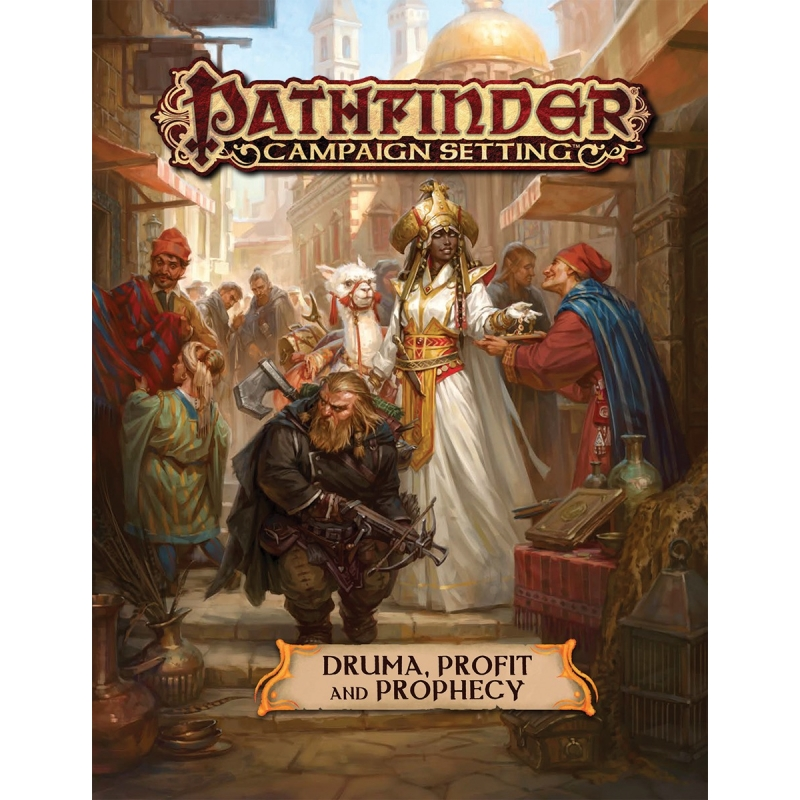 Pathfinder Campaign Setting: Druma - Profit and Prophecy - Wayland Games