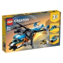 Twin-Rotor Helicopter LEGO® Creator 3-in-1 31096